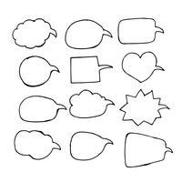Handbollsymbol för talbubbla