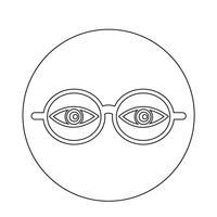 Brillen-Symbol