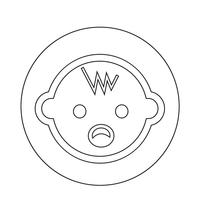 Icono de bebe
