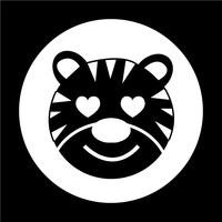 Tiger Icon vector
