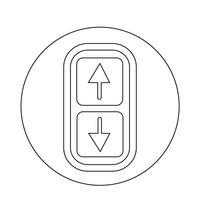 Icono de flecha arriba y abajo