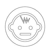Icona del bambino