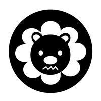 Cute Lion Icon