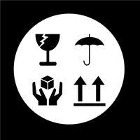 icono frágil