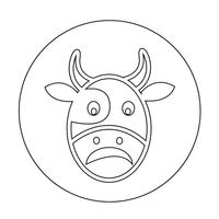 Icono de vaca