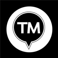trademark button