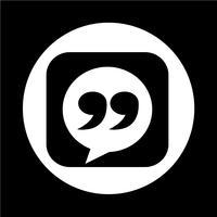 Blockquote  icon