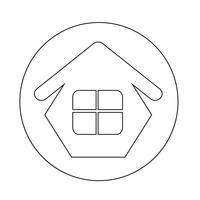 Ícone de casa de imóveis