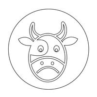 Ícone de vaca