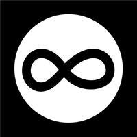 Icona simbolo senza limiti