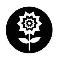 Icône de la fleur