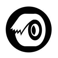 icono de cinta vector