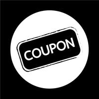 Icona coupon di sconto