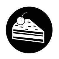 Icono de pieza de pastel