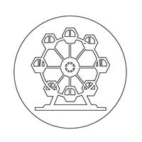 Icône de la grande roue