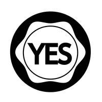 Ja-knappikonen