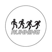 Sign of  Running icon