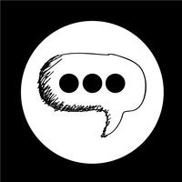 Speech Bubble-pictogram