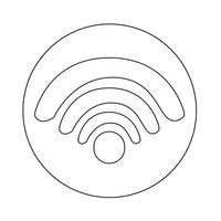 Icono de señal de wifi