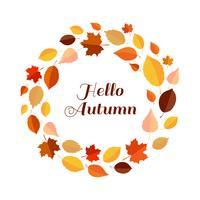 Hallo Herbstlaubrahmen