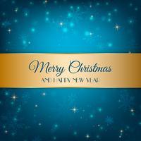 Blue Christmas Hintergrund