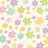 Fundo de flores de verão