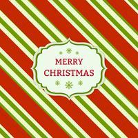 Natale a strisce rosse e verdi