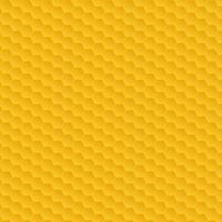 Yellow honeycomb pattern vector