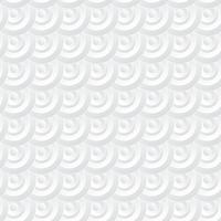 Fond de cercle blanc. Style d'art de papier