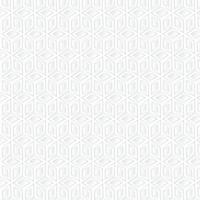 Fondo geométrico cubo blanco, patrón de arte de papel