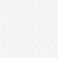 Witte kubus geometrische achtergrond, papier kunst patroon