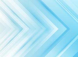 Abstract technology corporate arrows blue background.