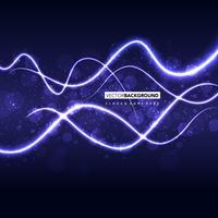 paarse golvende abstracte achtergrond