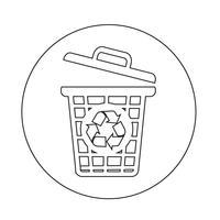 icono de papelera