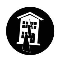 Terremoto, símbolo, ícone