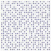 Abstraktes blaues Farbhexagonmuster auf Gitterhintergrund.