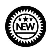 New Icon vector