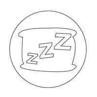 Icône de sommeil