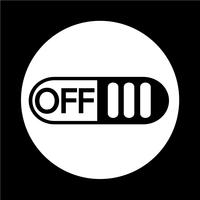 Off switch button icon
