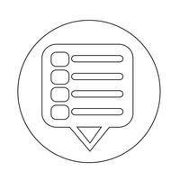 Icône de menu