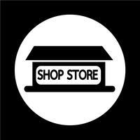 Ícone loja de loja