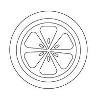 Oranje pictogram