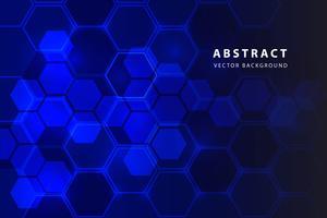 abstrakt hexagon bakgrund