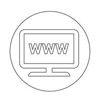 Icona di Web TV