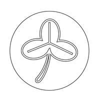 Blad pictogram