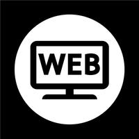 Icône Web TV