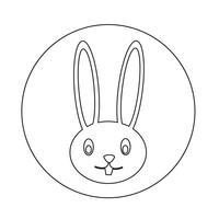 icono de conejo