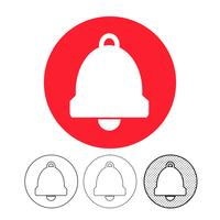 bell pictogram vector