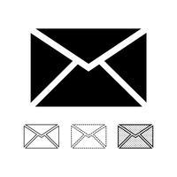 vettore dell'icona della posta elettronica