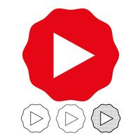 button video player icon